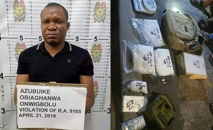 2 Nigerians In Philippines Arrested With N125million Worth